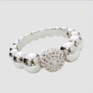 Park Lane Silver Peplum Ring Size 10